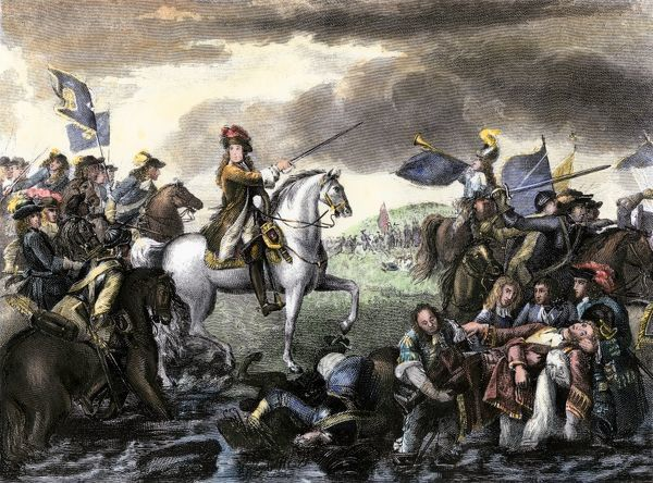 william of orange at the battle of the boyne 1668