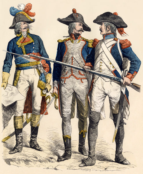 French Military Uniforms 1795 5882144
