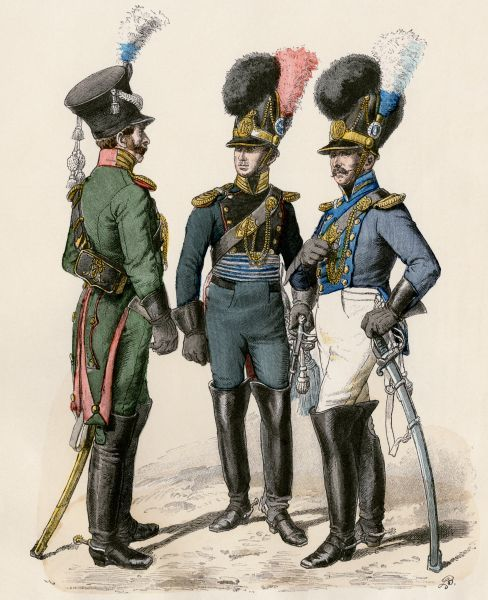 French police officers, early 1800s (5882370) Framed Prints, Wall Art
