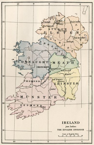 Ireland in the 16th century
