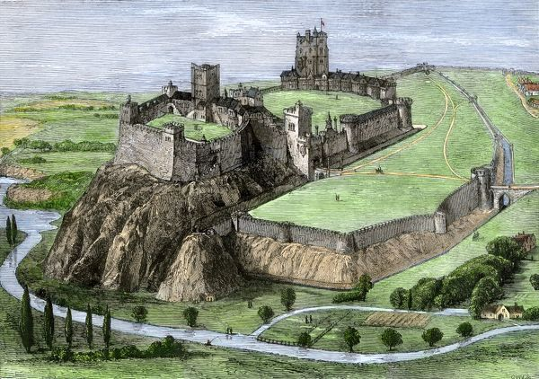 Nottingham Castle in the 1500s