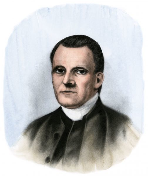 Roger Sherman, a signer of the Declaration, jurist, and senator. Hand-colored halftone reproduction of a 19th-century illustration