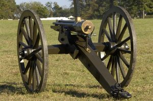 19th-century Gatling gun