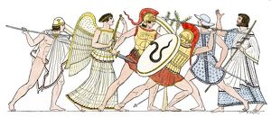 Achilles in the Trojan Wars
