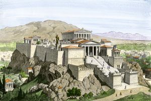 Acropolis of ancient Athens