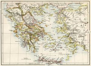 Ancient Greece and its colonies around the Aegean