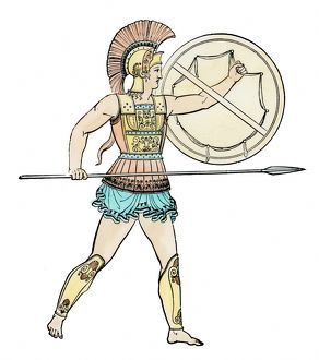 Ancient Greek soldier