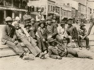 Black stevedores in St. Louis, Missouri, 1890s