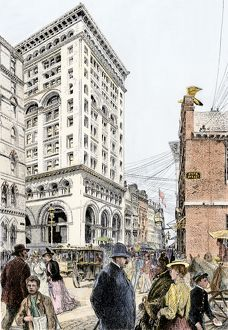 Boston, Massachusetts, in the 1890s