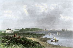 Boston seen from Dorchester, Massachusetts, 1774