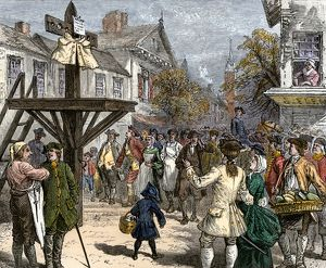 Boston Tea Party looter ridiculed