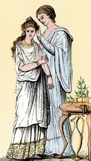 Bride in ancient Rome