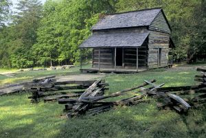 Cades Cove log cabin, Tennessee