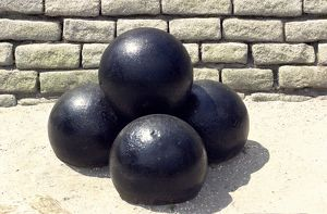 Cannonballs, Fort Moultrie, Charleston SC
