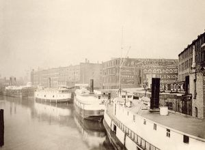 Chicago River, 1890s