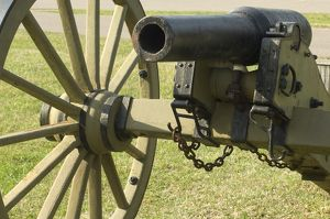Civil War field artillery
