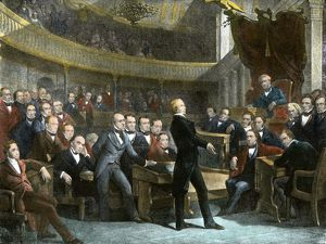 Compromise of 1850 debate in the US Senate