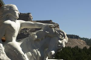 Crazy Horse monument model