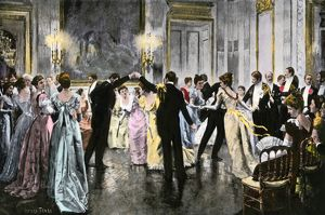 Dancing the cotillion