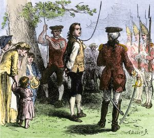 Death of Nathan Hale, 1776