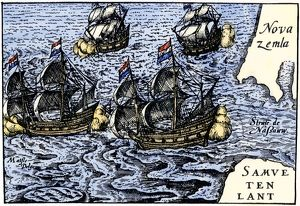 Dutch ships in the Arctic, 1600s