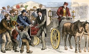 Election-day campaigning, 1870s