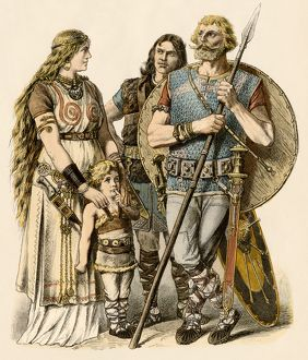 Europeans of the early Middle Ages