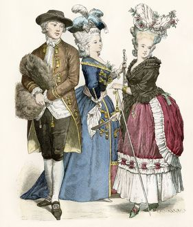Fashion in France, 1780s