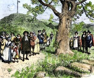 First colonists of Boston, Massachusetts, 1630s