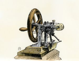 First sewing machine, 1846