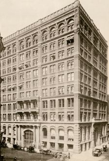 First steel-framed skyscraper, Chicago, 1890s