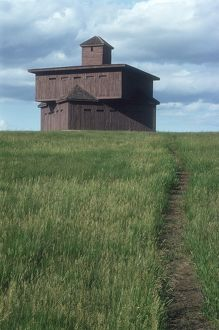 Fort McKeen blockhouse, aka Fort Abraham Lincoln, North Dakota