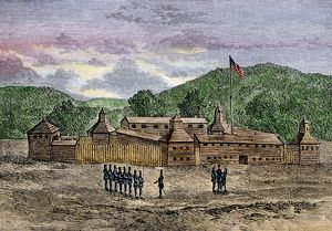 Fort Washington on the Ohio River, 1789