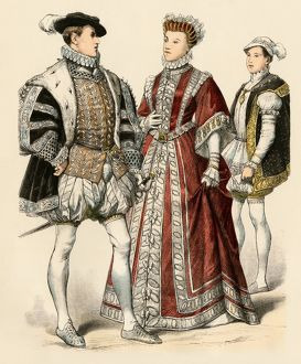 Francis II and Elizabeth of Valois