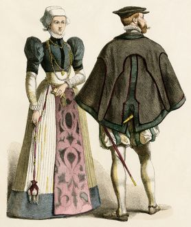 German couple of the 1500s