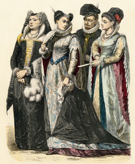 Italian fashion in the 1580s