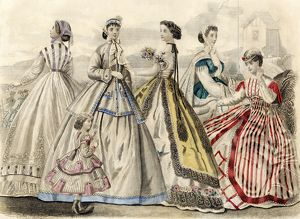 Ladies' fashions, 1866