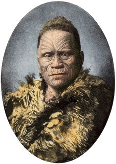 Maori leader, New Zealand, 1800s