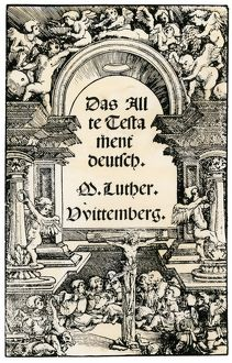 Martin Luther's German translation of the Bible