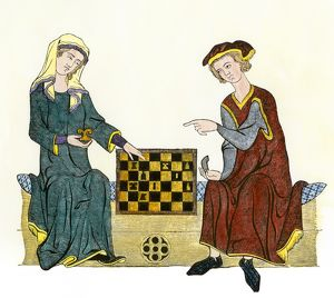 Medieval game of chess