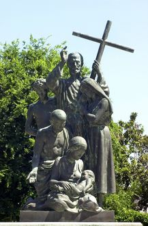 Minorcan colonists statue, St. Augustine, Florida