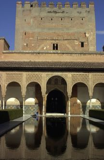 Nasrid Palace in the Alhambra, Granada, Spain