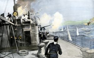 Naval battle off Puerto Rico, Spanish-American War