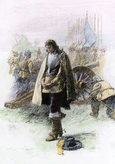 oliver cromwell at edgehill english civil war