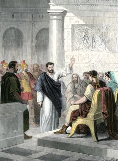 Paul a prisoner of Agrippa