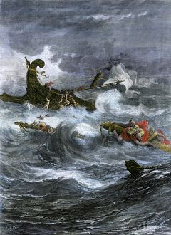 Paul's shipwreck while on a missionary journey