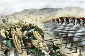Persians defeated at the Battle of Platae, 479 B.C.
