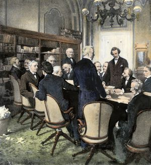 Reconstruction Committee meeting in Washington