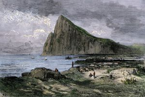 Rock of Gibraltar in the British Empire