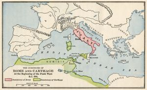 Rome and Carthage, 264 BC
